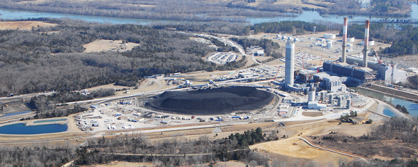 coal piles
